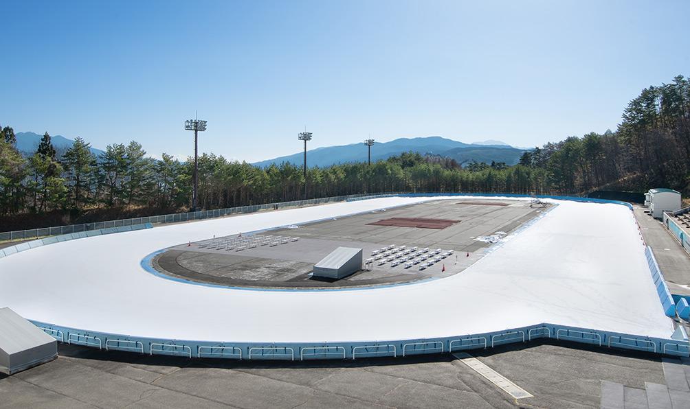 やまびこスケートの森 国際スケートセンター
